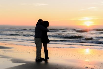 sunset beach photography