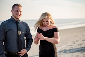 surprise proposal in sunset beach